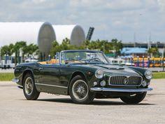 1960 Maserati 3500 GT Spyder | I6, 3,485 cm³ | 220 bhp | Design: Giovanni Michelotti, Vignale