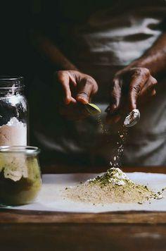 cinnamon and matcha rice pudding | A Brown Table