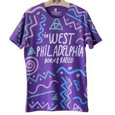 Fresh Prince West Philadelphia T-shirt  #freshprince #philadelphia #TBT #freshprinceofbelair #fashion #style #summerstyle #festivalstyle #festivals