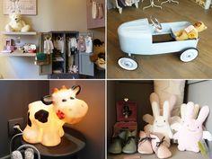 I love the cow lamp!    Pois Plume : l'univers des tout petits | Chic & Geek