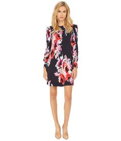 Kate Spade New York Hazy Floral Cordette Dress
