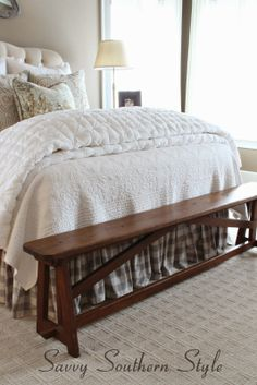 Adding French Farmhouse Style in the Master 2019 Savvy Southern Style Adding French Farmhouse Style in the Master.Love the Bench. Carpet The post Adding French Farmhouse Style in the Master 2019 appeared first on Entryway Diy. French Farmhouse Style, French Country Living Room, Home, Country Living Room, Country Bedroom, Home Bedroom, Remodel Bedroom, Home Decor Styles, French Country Bedrooms