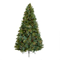 One of my favorite discoveries at ChristmasTreeShops.com: 6.5' Pre-Strung Artificial Christmas Tree