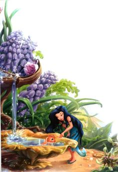 The World of Fairies: At the Dawn of Pixie Hollow Tinkerbell Movies, Tinkerbell And Friends, Tinkerbell Fairies, Disney Fairies, Tinkerbell Disney, Disney Pixar, Disney And Dreamworks, Disney Art, Hades Disney