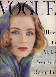Suzy Parker, Vogue US, May 1955.