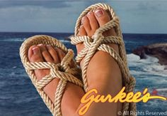 d2f5b8b6ddb3 Gurkees Rope Sandals Central  Barbados Gurkee s Rope Sandals Got these on  Monday!