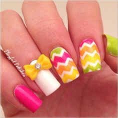 Spring Nail Art by Tionna