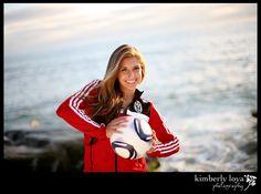 Senior soccer pictures, beach session, senior pictures