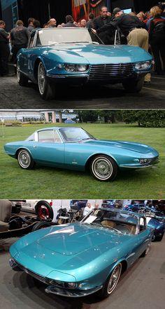 Beautiful car, never produced, 1963 Pininfarina Corvette