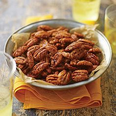 Spiced Pecans - Best Party Appetizers and Recipes - Southern Living