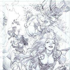 X-Men by Whilce Portacio