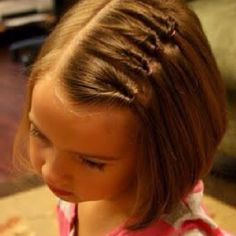 Little girl's hair style