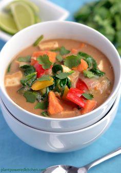 Returning to Blogging: Peanut Thai Vegetable Stew
