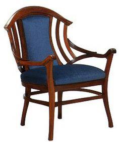 Armchair by Henry Van de Velde