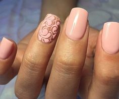 Accurate nails, Beautiful nails 2016, Beautiful patterns on nails, Colorful gel polish, Delicate spring nails, Everyday nails, Mauve nails, Nails ideas 2016