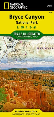 • Waterproof • Tear-Resistant • Topographic Map The map includes the entire national park area, with detailed trails and topographic information. Also included are portions of Grand Staircsae - Escala