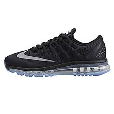 Nike Air Max 2016 Gs Big Kids 807236-001 Black Running Shoes Youth Size 7