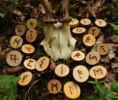 After the end of the Viking period the runes became more and more in common use by ordinary people. A lot of rune inscriptions from the end of and the so-called town runes, show. Anglo Saxon Runes, Norse Runes, Elder Futhark Runes, Viking Runes, Norse Mythology, Viking Aesthetic, Witch Aesthetic, Character Aesthetic, Wicca