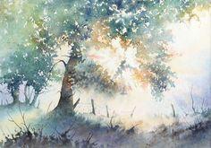 Lumière du matin - Aquarelles | Joël SIMON