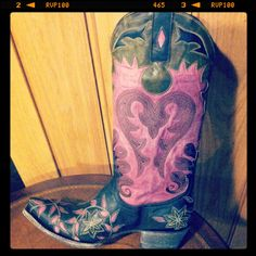 Pink Cowgirl Boots. http://www.rivertrailmercantile.com