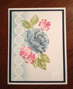 Bonus cartes et étiquettes : Beth (encre et pochoir)
