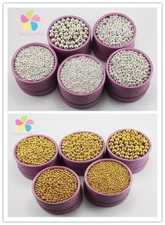 [Visit to Buy] Lucia Crafts 3/4/5/6/8mm Charms Gold & Silver Plated Alloy Space Loose Beads DIY Bracelets & Necklaces Accessories D028008192 #Advertisement