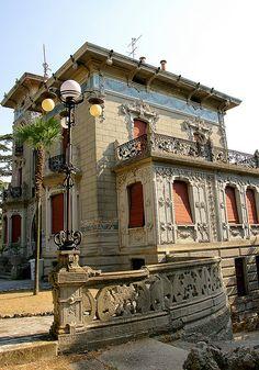 Villa Conti, Civitanova, Marche, Italia