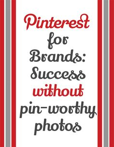 Success Without Product Photos on Pinterest