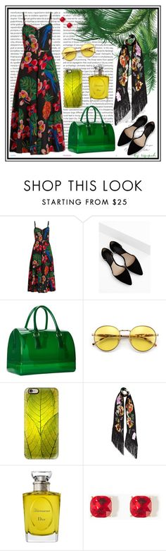 """№ 405"" by tigrpuh ❤ liked on Polyvore featuring Oris, Valentino, MANGO, Furla, Wildfox, Casetify, Rockins and Christian Dior"
