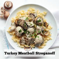 Your family will never notice that lower fat turkey has been subbed for the beef usually found in stroganoff recipes—the turkey mixture is incredibly flavorful and the creamy sauce that tops this modified classic tastes seriously indulgent. Get the recipe.