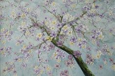 Sakura Oil Painting
