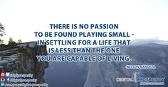 Are you ready to stop playing small? Find your passion with us at www.jamesfrancis.com #DigitalProsperity