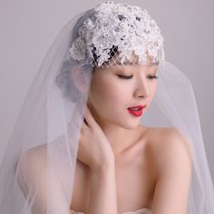 Aliexpress.com : Buy Freeshipping ! Ivory handmade vintage pearl lace cap bridal veil 1 meter from Reliable veil long suppliers on Fairy Store. $80.00