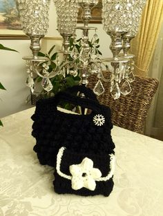 Crochet purse, my hobby