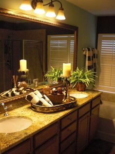 A master bathroom staged by Encore Home Staging and Redesign