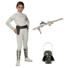 Complete Standard Padme Amidala Girls Costume - Kids Star Wars Costumes