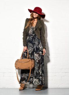 winter maxi dress #winter #maxi #wintermaxi