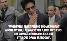 king of #bollywood industry #Shahrukh khan on #USA