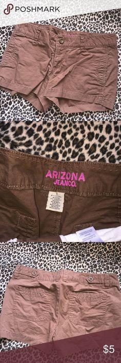 Arizona Jean Co Shorts Brown Arizona Jean Company Shorts