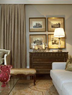 Decoração de: Detalhes  - composição de quadros; Casa de Valentina