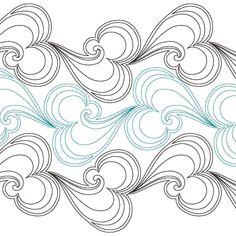 Sea Foam Feathers - Digital SSQ-SFF_DIGITAL