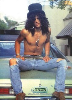 I met and became friends with Slash during the infamous concert held in St. Louis Mo. great customer & friend...