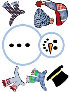 Unfinished Snowman Coloring And Drawing Printable Teacher Ideas