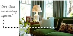 Love the bright green with light blue and hint of animal!