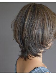 Asian Short Hair, Short Grey Hair, Short Hair With Layers, Short Hair Cuts For Women, Medium Hair Styles, Curly Hair Styles, Honey Brown Hair, Girls Short Haircuts, Bob Hairstyles