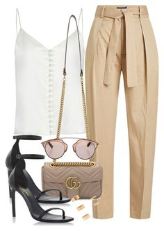 """Untitled #3623"" by camilae97 ❤ liked on Polyvore featuring Polo Ralph Lauren, Gucci, Yves Saint Laurent, Christian Dior and Forever 21"