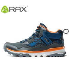 Rax Men Hiking Shoes, Outdoor Sports Shoes Men Walking Sneakers Athletic Shoe Type: Hiking Shoes Closure Type: Lace-Up Gender: Men Insole Material: EVA Outsole Material: Rubber Fit: Fits true to size, take your normal size Upper Material: PU Shoe Width: Medium(B,M) Feature: Massage,Breathable,Waterproof Brand Name: Rax Lining Material: Lycra USA European Heel to Toe(cm) 5.5 36 230 6 37 235 6.5 38 240 7 39 245 7.5 40 250 8.5 41 255 9.5 42 260 10 43 265 11 44 270