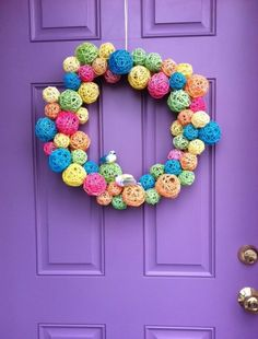 If you ended up with leftover egg dye from Easter, or happen to pick some up on sale this week, check out this fun wreath tutorial from Brenna at Dollar Store Mom. She used egg dye to color rattan ...