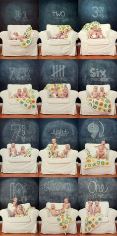 Month-by-Month Baby Photo Ideas