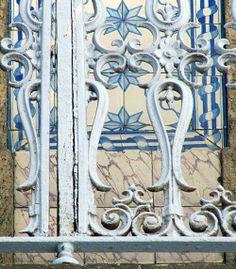 Azulejos antigos no Rio de Janeiro: Centro XXXIX - rua Teophilo Otoni